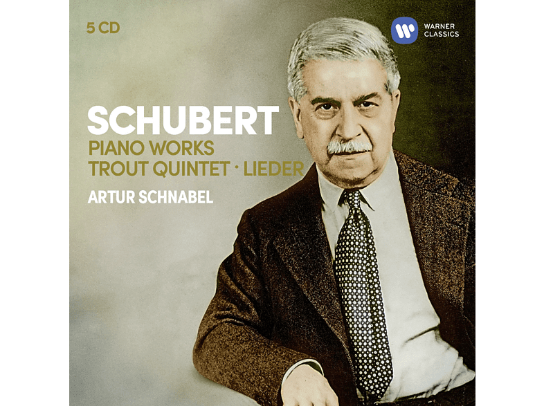 Artur Schnabel, VARIOUS - Klavierwerke/Forellenquintett/Lieder [CD]