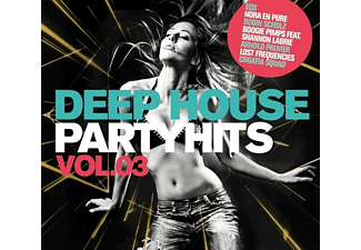 VARIOUS - Deep House Partyhits Vol.3 - (CD)