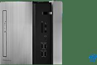 LENOVO IdeaCentre 510, Gaming PC mit Core i5 Prozessor, 8 GB RAM, 128 GB SSD, 1 TB HDD, GeForce® GTX 1050 Ti, 4 GB