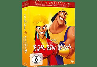 Ein Königreich für ein Lama 1+2 Film Collection [DVD]