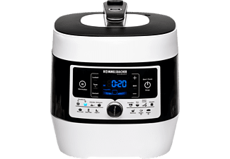 ROMMELSBACHER MD 1000 Multikocher Weiß/Schwarz (Rührschüsselkapazität: 4 Liter, 1000 Watt)