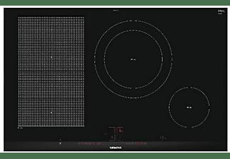 Encimera - Siemens EX875LEC1E, Eléctrica, Inducción, 4 zonas, 28 cm, Negro