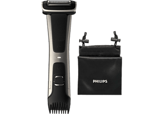 PHILIPS Bodygroomer BG7025/15 Series 7000, silber-schwarz