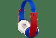 JVC HA-KD9BT-A, On-ear Kopfhörer Bluetooth Blau/Rot