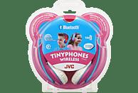 JVC HA-KD9BT-P, On-ear Kopfhörer Bluetooth Pink/Mint