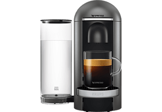 KRUPS XN900T Nespresso Vertuo Plus Kapselmaschine Titanium