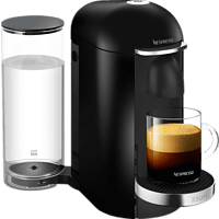 KRUPS XN9008 Nespresso Vertuo Plus Kapselmaschine, Schwarz