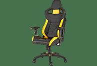 CORSAIR CF-9010015-WW T1-V2 RACE Gaming Stuhl, Schwarz/Gelb