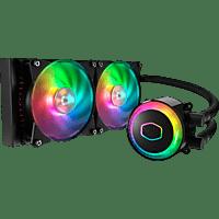 COOLER MASTER MasterLiquid ML240R RGB CPU Wasserkühler, Schwarz/Mehrfarbig