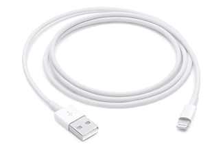 APPLE USB - Lightning-kabel 1 m Zwart (MQUE2ZM/A)