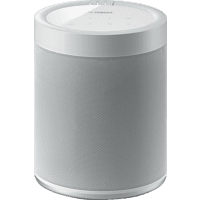 YAMAHA MusicCast 20 - Streaming Lautsprecher (App-steuerbar, Bluetooth, W-LAN Schnittstelle, Weiß)
