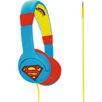 OTL Superman Junior, On-ear Kopfhörer  Mehrfarbig
