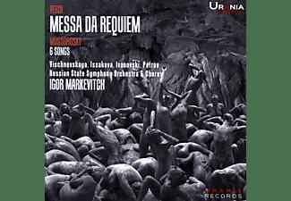 Vischnevskaya/Issakova/Ivanovski/Petrov/Markevitch - Messa da Requiem,Ouvertüren,Lieder  - (CD)