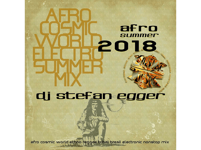 Dj Stefan Egger - Afro Summer 2018 [CD]