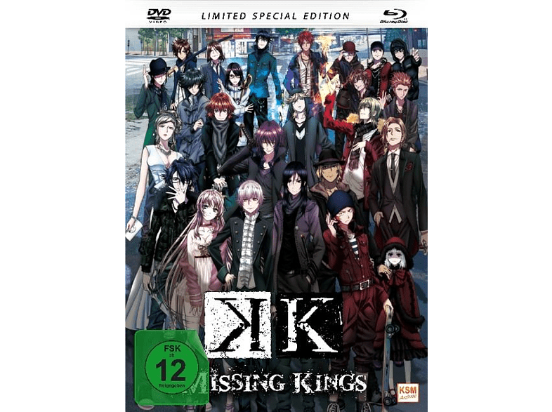 K - Missing Kings [Blu-ray + DVD]