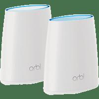 WLAN-Mesh-System NETGEAR Orbi RBK20-100PES AC2200 Tri-band 2200 Mbit/s