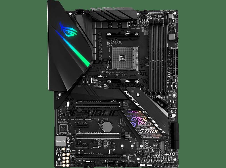 ASUS ROG Strix X470-F Gaming Gaming Mainboard Schwarz