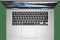 DELL INSPIRON 15-7570, Notebook mit 15.6 Zoll Display, Core™ i7 Prozessor, 8 GB RAM, 512 GB SSD, GeForce 940 MX, Silber
