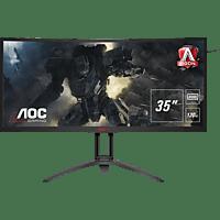 AOC AG352UCG6 35 Zoll UWQHD Gaming Monitor (4 ms Reaktionszeit, G-SYNC, 120 Hz)