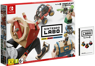 Switch - Nintendo Labo Toy-Con 03 : Kit Véhicules /Multilingue