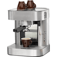 ROMMELSBACHER EKS 1510 Espressomaschine Edelstahl