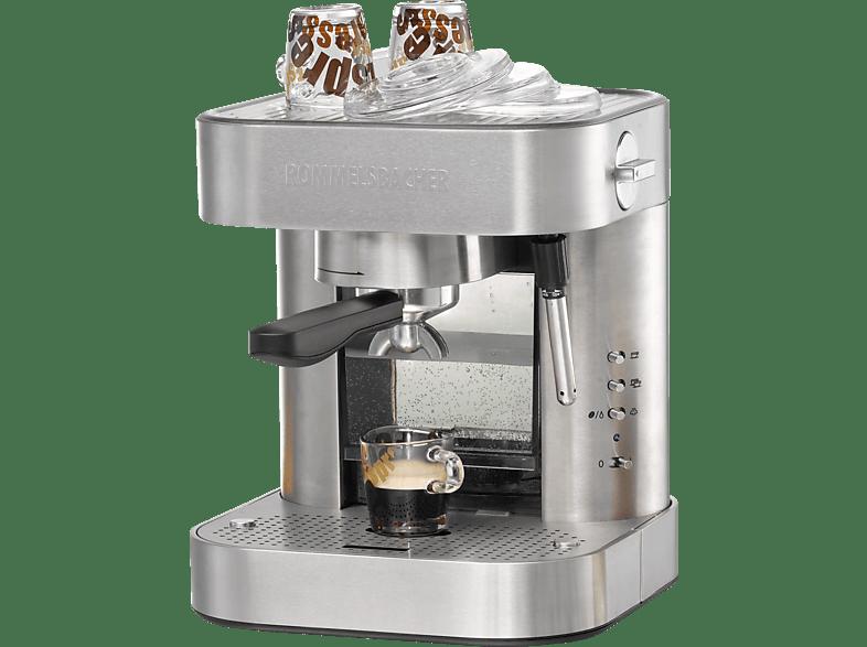 ROMMELSBACHER EKS 2010  Espressomaschine Edelstahl