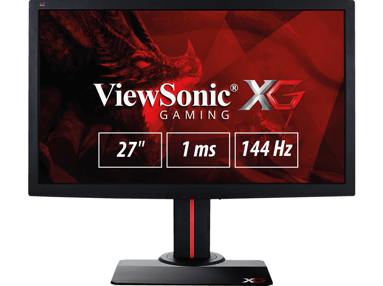 VIEWSONIC XG2702 27 Zoll Full-HD Monitor (1 ms Reaktionszeit, 144 Hz)