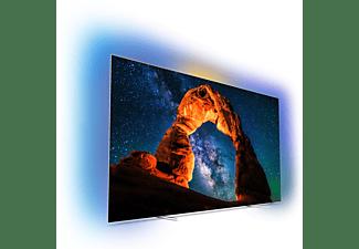 PHILIPS 65OLED803 OLED TV (Flat, 65 Zoll / 164 cm, UHD 4K, SMART TV, Ambilight, Android TV)