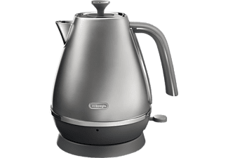DE LONGHI Wasserkocher Distinta Flair KBI 2001 BL in Finesse Silber