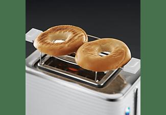RUSSELL HOBBS 24370-56 Inspire Toaster Weiß/Chrom (1050 Watt, Schlitze: 2)