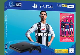 SONY Playstation 4™ 500GB Jet Black / EA Sports Fifa 19-Bundle