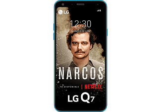 "Móvil - LG Q7, Negro, 32 GB, 3 GB RAM, 5.5"", Mediatek MT6750, 3000 mAh, Android"