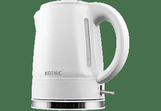 KOENIC KWK 2130 W Wasserkocher, Weiß