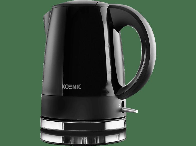KOENIC KWK 2130 B Wasserkocher, Schwarz