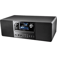 PEAQ Internet & DAB+ Radio PDR360BT-B