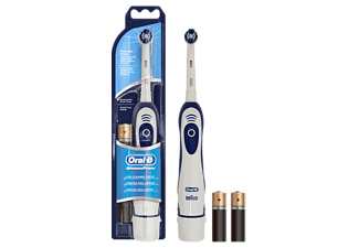 ORAL-B Advance Power (Batterie) elektrische Zahnbürste Weiß/Blau
