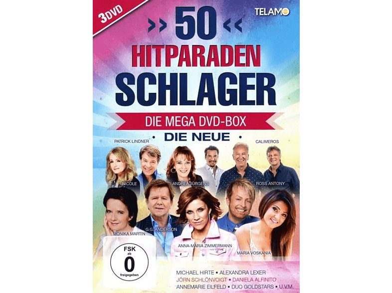 VARIOUS - 50 Hitparaden Schlager-Die Neue [DVD]