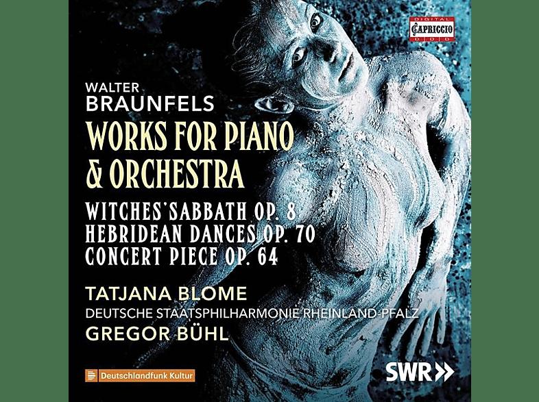 Tatjana Blome, Gregor Bühl, Deutsche Staatsphilharmonie Rheinland-Pfalz - Werke für Klavier und Orchester [CD]