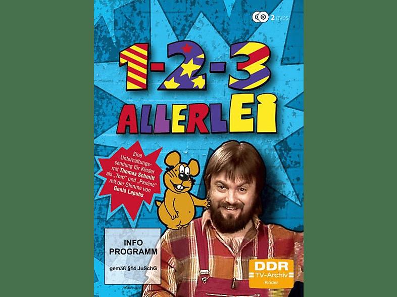1-2-3 Allerlei (DDR TV-Archiv) [DVD]