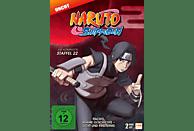 Naruto Shippuden - Staffel 22: Folge 671-678 [DVD]