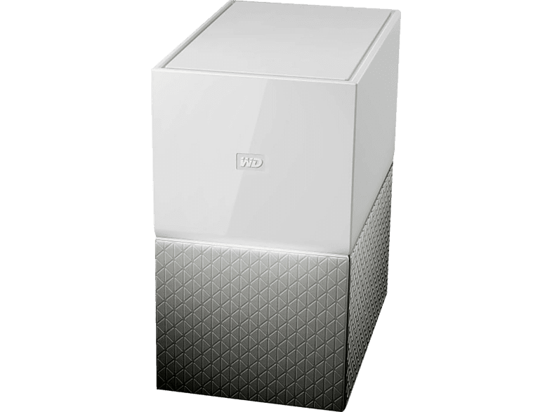 WD My Cloud Home Duo, 6 TB NAS 3,5 Zoll Anzahl Festplattenschächte 2 Weiss}