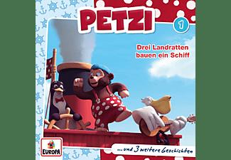 Petzi - Petzi 001/Drei Landratten bauen ein Schiff  - (CD)