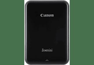 Impresora fotográfica - Canon Zoemini Black, 10 hojas capacidad, 314 x 600 px, 64 GB, Negro