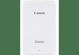 Impresora fotográfica - Canon Zoemini White, 10 hojas capacidad, 314 x 600 px, 64 GB, Blanco