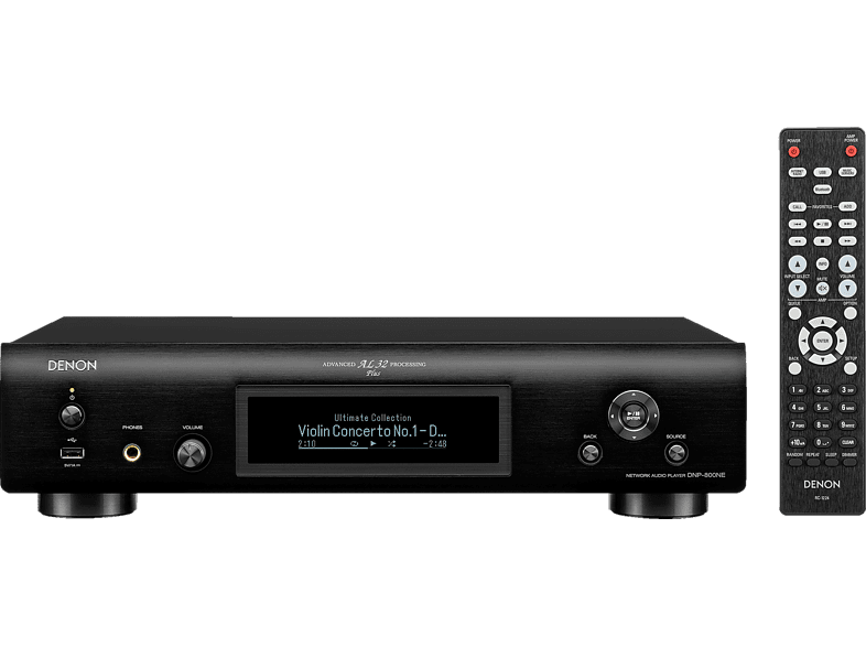 DENON DNP-800NE Netzwerk-Audioplayer (Schwarz)