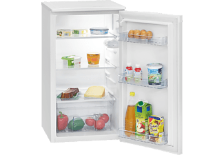 BOMANN VS 7231 Kühlschrank (F, 831 mm hoch, Weiß)