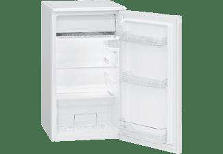BOMANN KS 7230 Kühlschrank (F, 831 mm hoch, Weiß)