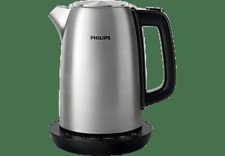 PHILIPS HD 9359/90 Wasserkocher, Metall/Schwarz