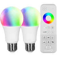 MÜLLER-LICHT LED-A60 2er-Set LED Starter Set Smart Home, Weiß