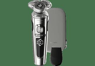PHILIPS SP 9820/18 Rasierer Metall/Schwarz (NanoTech-Präzisionsklingen, Effektives Hautkomfort-System)